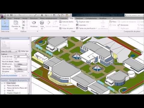 Como exportar 3D de Autocad a Revit y luego ponerle materiales - YouTube