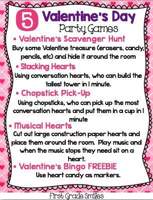 17 best valentine class party images on pinterest valentine valentine games idea
