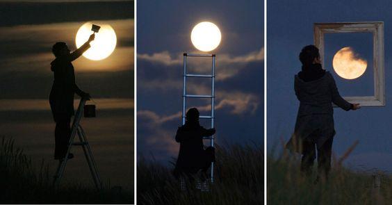 Conoce al artista detrás de estas geniales fotos de la luna