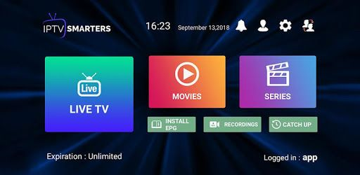 Iptv Smarters Pro App Is A Live Iptv App For End Users That Provides The Facility To Watch Live Tv Vod Series Tv Catchup On Smart Tv Android Tv Box Live