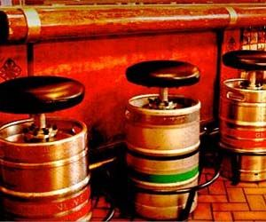 Beer Keg Stools And Beer On Pinterest