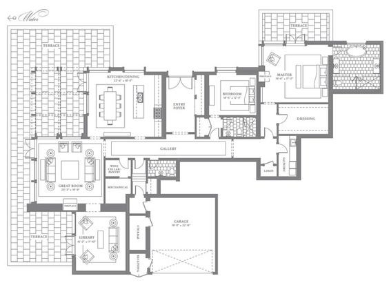 The boutique Edgemere floor plans are spacious Oakville private residences for sale.
