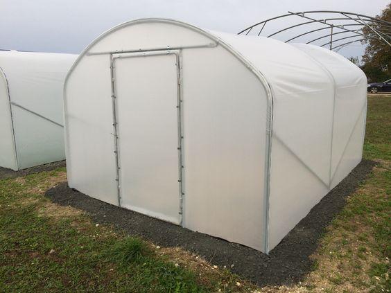 Serre de jardin largeur 3 mètres
