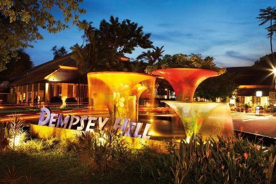Khu Dempsey Hill đem tới trải nghiệm thú vị cho khách du lịch Singapore