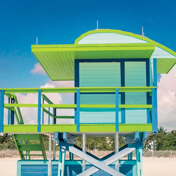 Miami Beach recently unveiled new designs for lifeguard towers, ensuring safety and beauty for years to come.