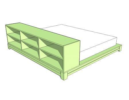 platform bed for kiddos