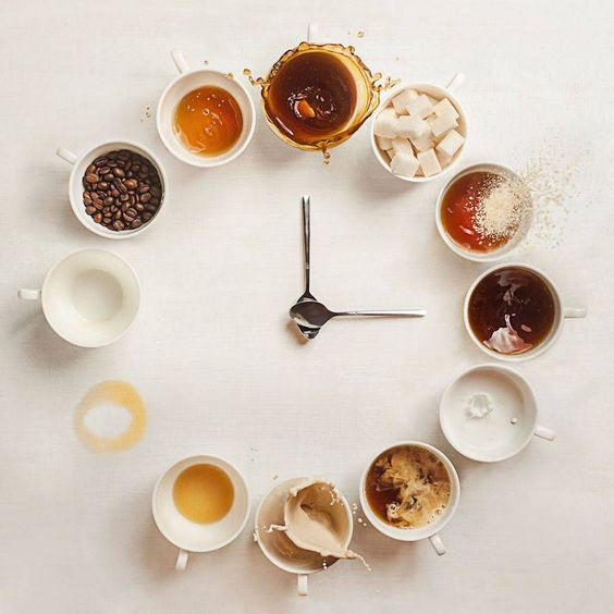 coffee time: Everyday Objects Turned into Magical Still Lives – Fubiz Media: