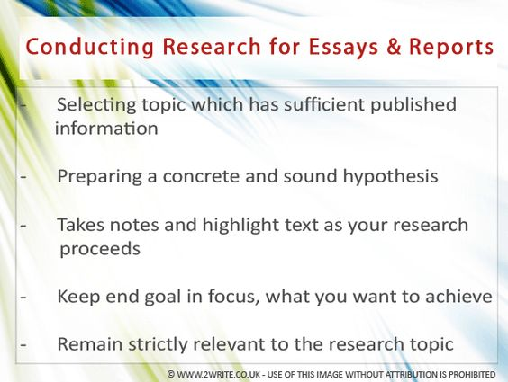 Identifying Research Components essay writing samples