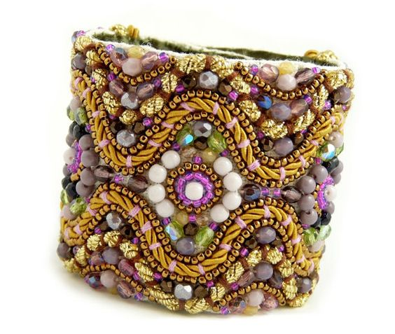 Kotys  Ornate Purple/Amethyst/Lilac  and by JaninaGrigoreJewels, $193.00