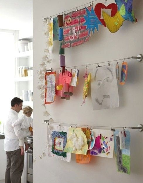 Oder probier es mit diesen Vorhangschnur-Systemen von IKEA. | 41 schlaue Ideen, wie Du die Zimmer Deiner Kinder toll organisieren kannst