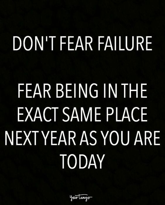 Fear keeps you from ever achieving what you truly desire!