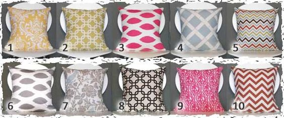 $11.00 pillow covers, now that's a steal of  a deal!