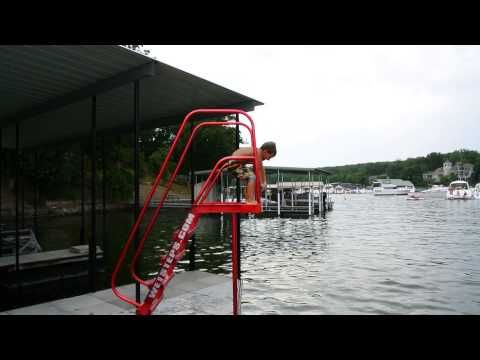 Ez High Dive Wet Steps Dock Accessories Ladders Made At The Lake Of The Ozarks In 2020 Dock Accessories Lake Fun Diving