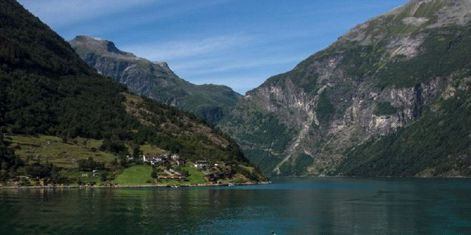 The 4 fjord counties of western Norway