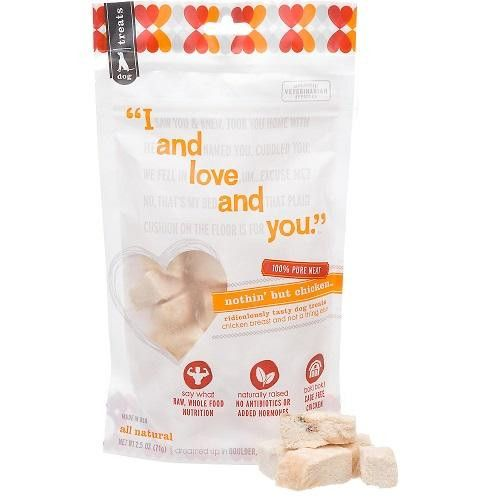 I And Love And You Dog Treat Bison Bite (6x2.5oz)