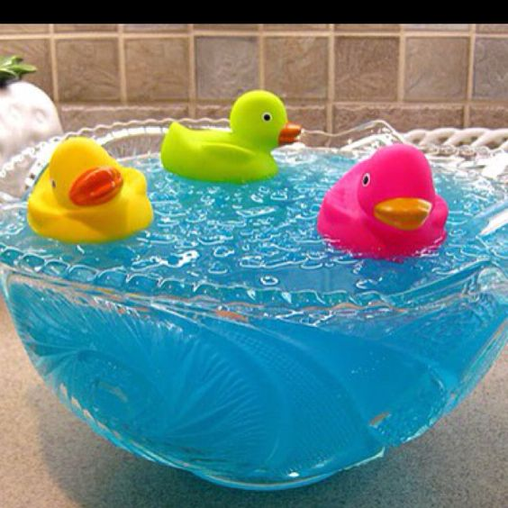 Ducky Bath Baby Shower Punch Recipe Baby Shower Punch