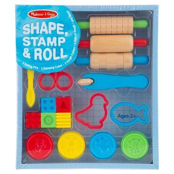 Melissa & Doug® Shape, Stamp & Roll Clay Play Set
