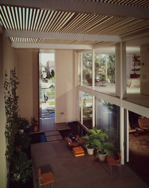 case study house 25 - Killingsworth, Brady and Smith - julius shulman #midcentury