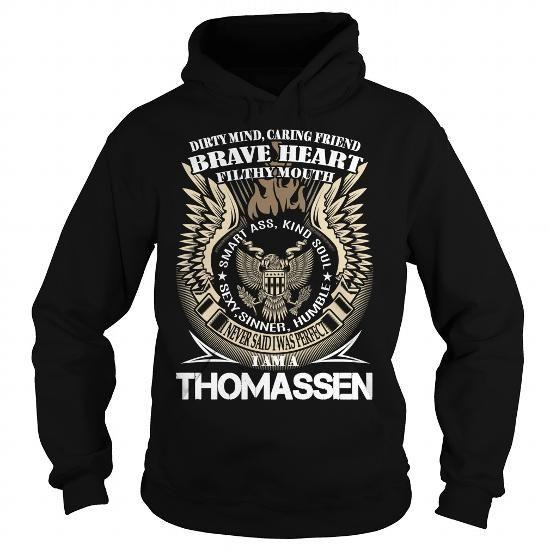 THOMASSEN Last Name, Surname TShirt v1 - #softball shirt #tshirt headband. THOMASSEN Last Name, Surname TShirt v1, tshirt display,cute sweater. FASTER =>...
