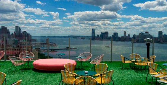 New York City's Best Rooftop Hotel Bars: Top of the Standard and Le Bain at the Standard High Line