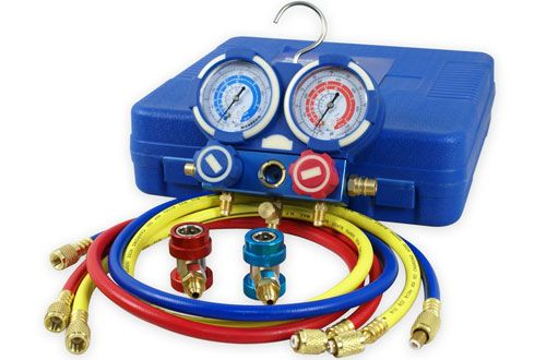 Zeny Diagnostic Ac Manifold Gauge R134a Refrigeration Kit Ductless Mini Split Hvac Installation Hvac