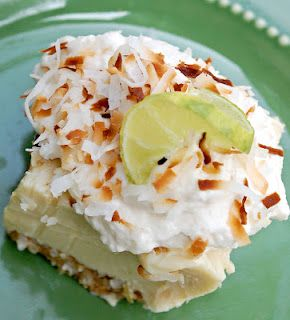 OMG...Key Lime Coconut Bars... just bought key limes. May have to do this tomorrow