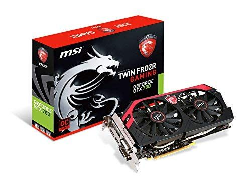 Msi Nvidia Geforce Gtx 760 Oc 2gb Gddr5 2dvi Hdmi Displayport Pci Express Video Card N760 Tf 2gd5 Oc Review With Images Graphic Card Video Card Nvidia