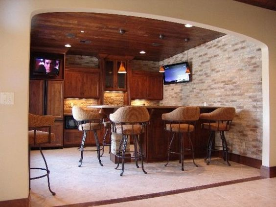 Home bar designs, Bar designs and Home bars on Pinterest