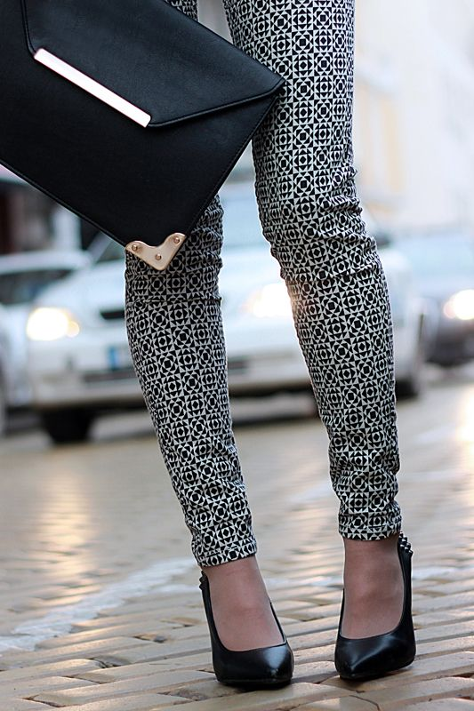 printed pant...dig them and the bag