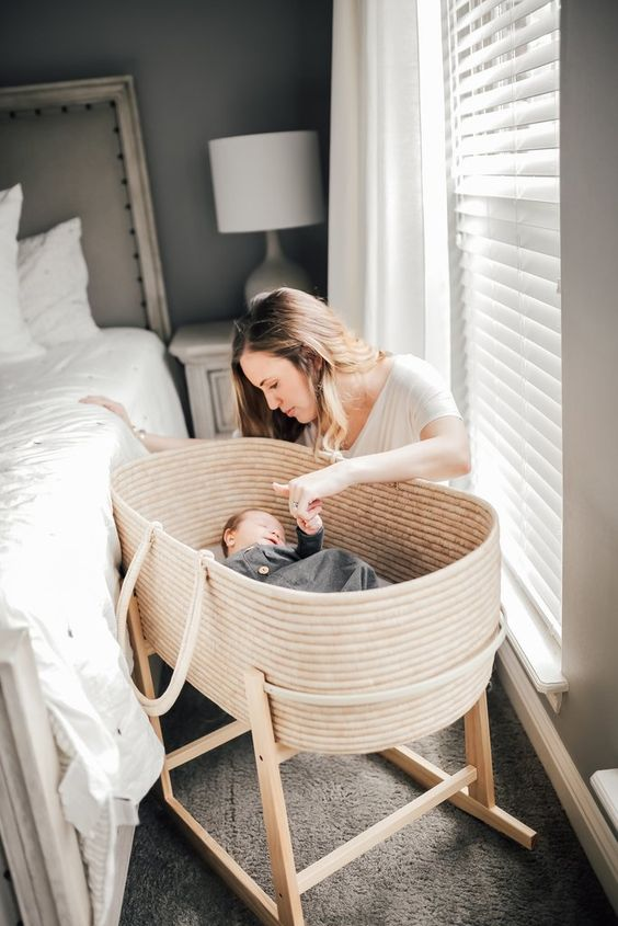 Ships only to the Continental USA due to weight. This bassinet is a limited offering. It takes very long to make and has limited stock availability.  The Malaika Bassinet is a beautiful Moses basket handcrafted from sisal grass and straw.  Safe for overnight sleep. Comes with firm mattress  Does not work with our Bassi