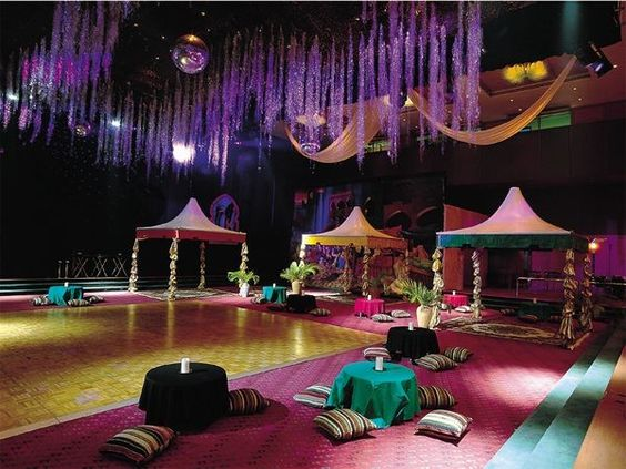 Prom decor arabian nights theme and prom themes on pinterest for Arabian party decoration ideas