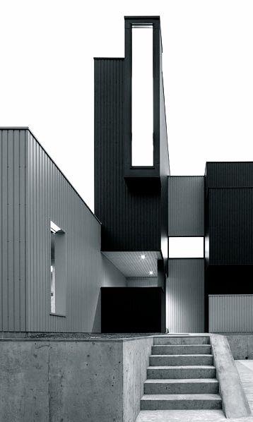 form kouichi kimura architects scape house shiga japan monochrome pinterest design. Black Bedroom Furniture Sets. Home Design Ideas