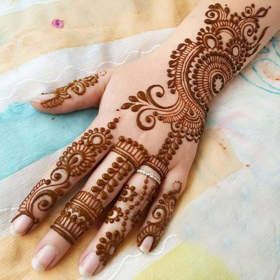 Mehndi Design for Hands