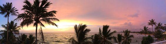 Sunset Sri Lanka, Panorama foto