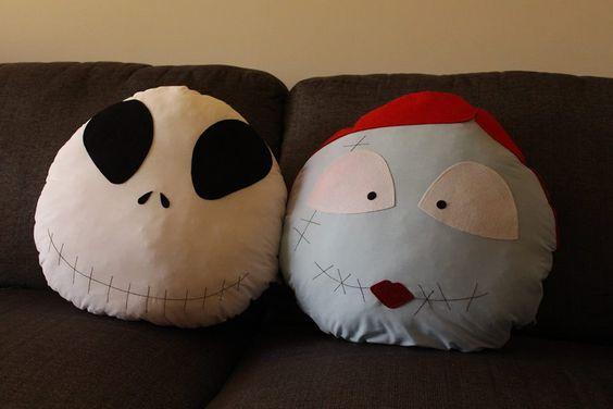 Jack & Sally pillows!