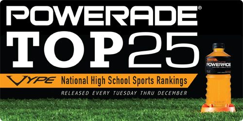 VYPE USA's Top 25 High School Football Rankings for 10.1.12