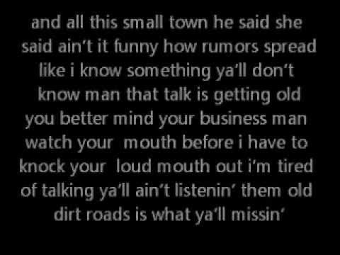 I love this song and it's so cool that it feat. Ludacris. Dirt Road Anthem by Jason Aldean feat. Ludacris.