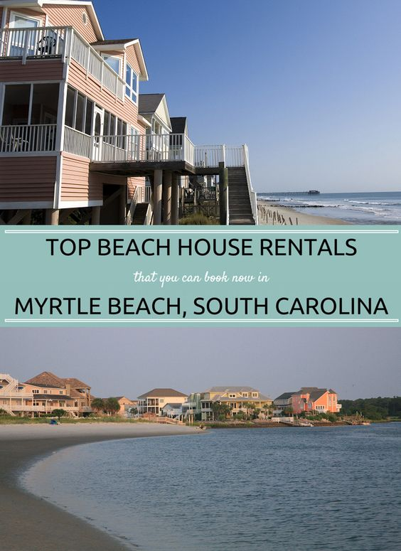 beach house rentals that you can book now in myrtle beach