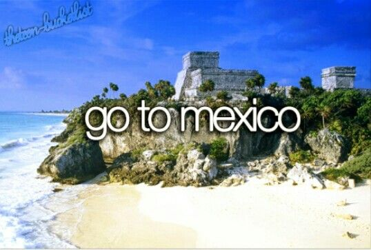 2011 Mexico Cancun & Woman Island. Lovely place, would like to go back to a different part and to Mexico City. Bucket list tick.