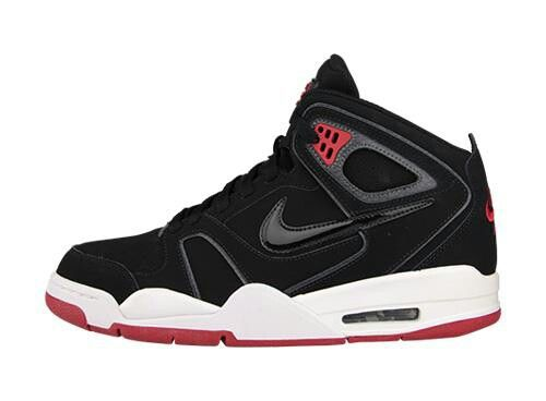 Nike Air Flight Falcon Black/Red | Kicks/shoes | Pinterest | Nike ...