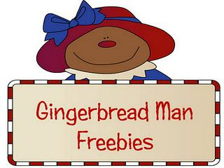 Gingerbread Man Freebies