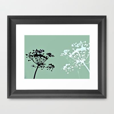 simple pleasures Framed Art Print by Amy Copp - $33.00