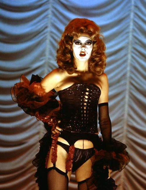 Susan Sarandon as Dr Frank-N-Furter.