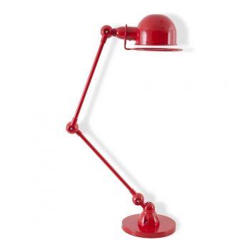 Jielde Style Lampe de Bureau Loft Rouge Jielde Style au Cult