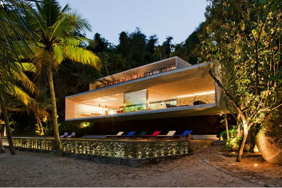 beach party house in brazil