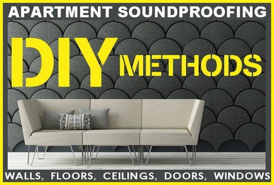 Here Are Some Tips To Soundproof An Apartment Whether It Be The Walls Floor Ceiling Door Or Wind Sound Proofing Sound Proofing Apartment Soundproofing Diy