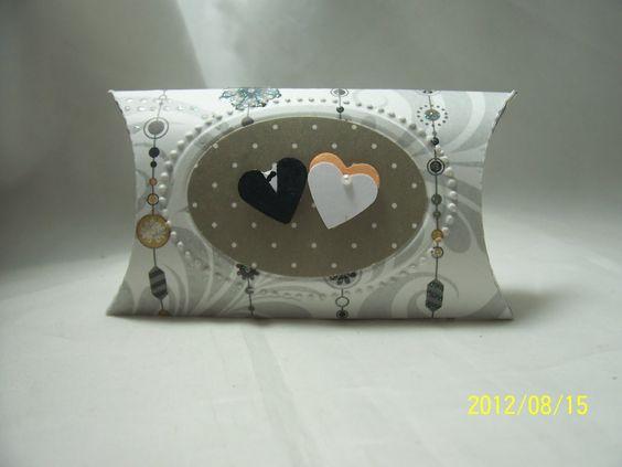 Stampin Up pillow box wedding | eine weitere variante pillow box stampin up designer rahmen stampin up ...