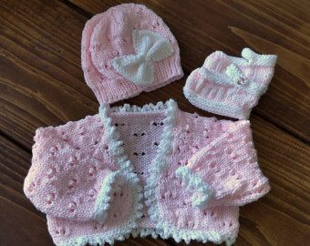 Baby Knitting Pattern Girls or Reborn von PreciousNewbornKnits