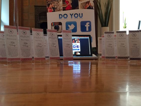 How To Create Your Own Photo Booth Insert As Place Card And Favor With The