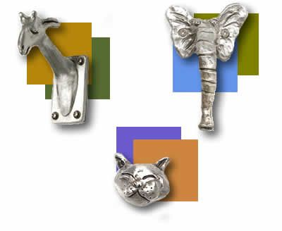 Thanks to Jan Jewett for showing me these - great hooks, pulls, knobs and house numbers for the new house - just adorable and DIFFERENT.